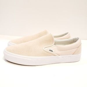 Van's slip on sneakers pink suede mens size 10